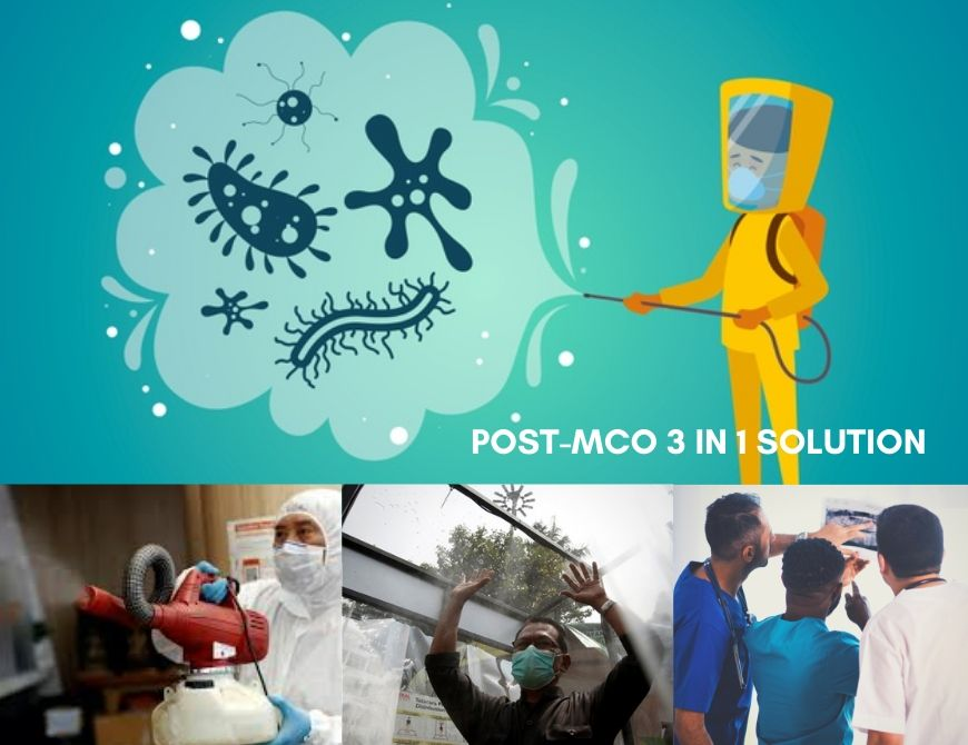POST-MCO 3 in 1 Solution